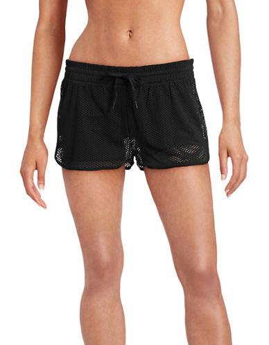 Ivy Park Mesh Running Shorts-BLACK-Large 88392075_BLACK_Large