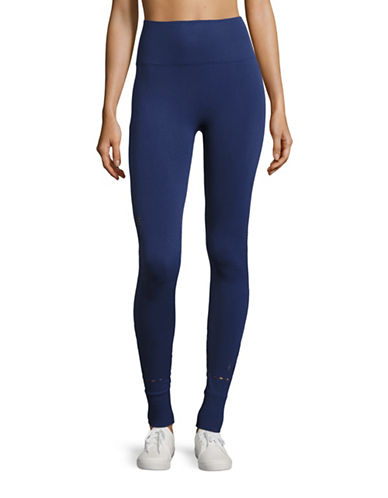 Ivy Park Perforated Mesh Leggings-BLUE-Large/X-Large 88534418_BLUE_Large/X-Large