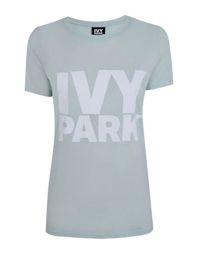 Ivy Park Logo Crew Neck Tee-MINT-Medium 88534436_MINT_Medium