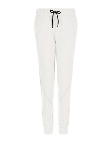 Ivy Park Heavy Weight Logo Jogger Pants-WHITE-X-Small 88754965_WHITE_X-Small