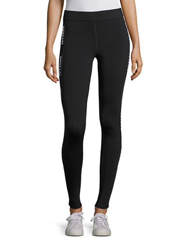 Ivy Park Ankle Leggings-BLACK-Medium