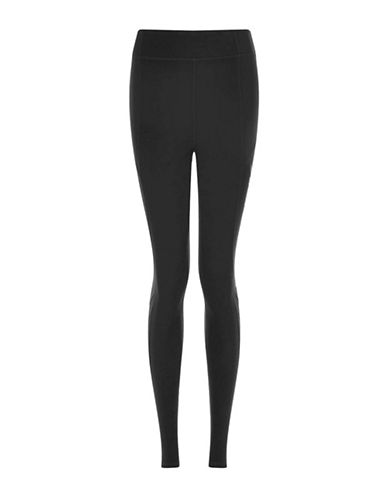 Ivy Park Brushed Back Ankle Leggings-BLACK-Large 88755003_BLACK_Large