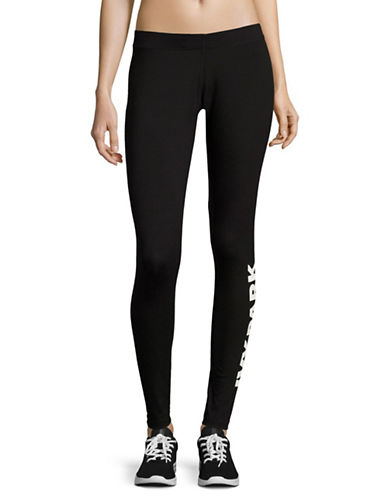 Ivy Park Logo Ankle Leggings-BLACK-X-Large