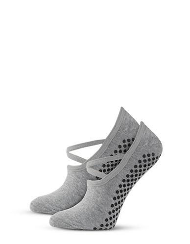 Ivy Park Two-Pack Logo Studio Socks-LIGHT GREY-One Size