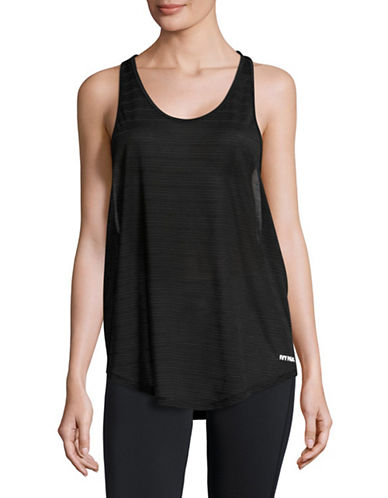 Ivy Park Sheer Burnout Tank-BLACK-X-Small 89048498_BLACK_X-Small