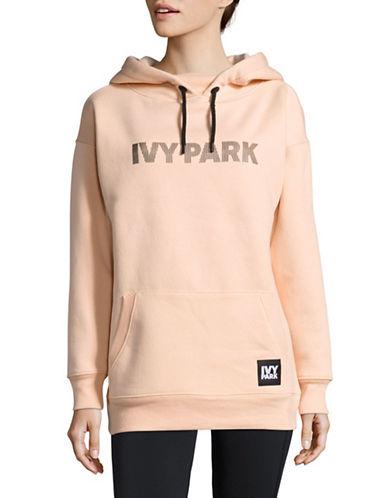 Ivy Park Silicone Logo Hoodie-BLUSH-X-Large 89048392_BLUSH_X-Large