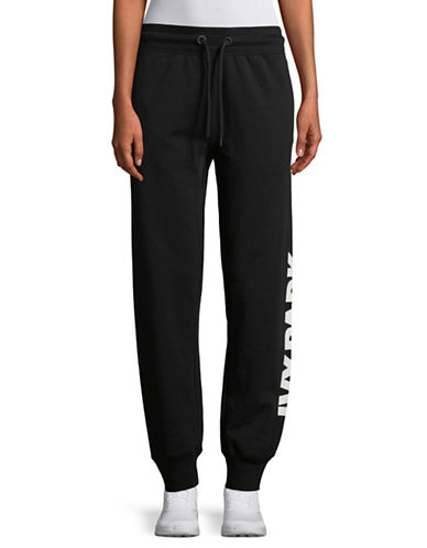 Ivy Park Logo Jogger Pants-BLACK-Medium 89701695_BLACK_Medium