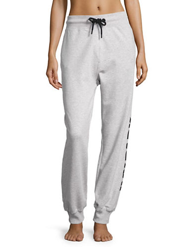 Ivy Park Logo Joggers-LIGHT GREY MARL-X-Large 88896757_LIGHT GREY MARL_X-Large