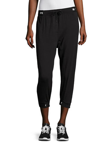 Ivy Park Drop Crotch Joggers-BLACK-X-Small 89166063_BLACK_X-Small