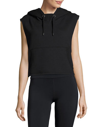 Ivy Park Cropped Hoodie-BLACK-Small 89122836_BLACK_Small