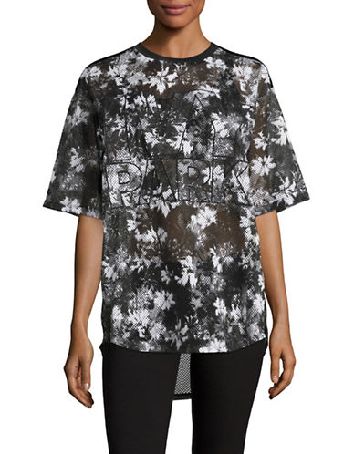 Ivy Park Floral B Ball Tee-MONOCHROME-X-Large