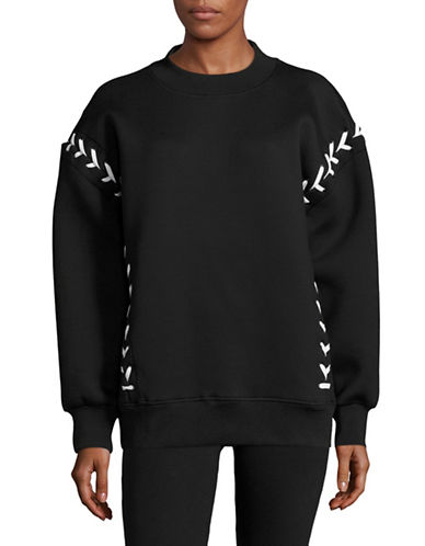 Ivy Park Laced Sweater-BLACK-Large 89048511_BLACK_Large