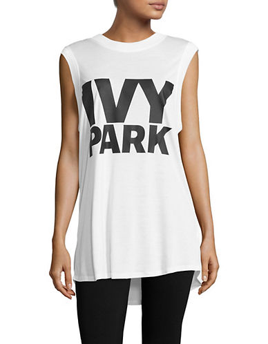 Ivy Park Logo Tank-WHITE-Medium