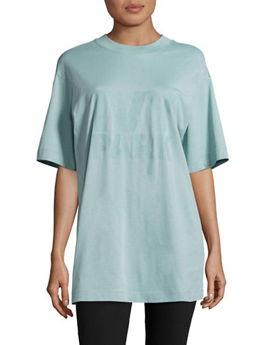 Ivy Park Tonal Logo Tee-PALE BLUE-Small 89122898_PALE BLUE_Small