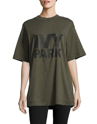 Ivy Park Oversized Logo T-Shirt-KHAKI-Small 88926042_KHAKI_Small
