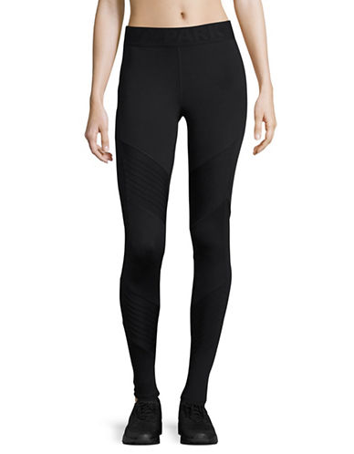 Ivy Park Pintuck Ankle Leggings-BLACK-Medium