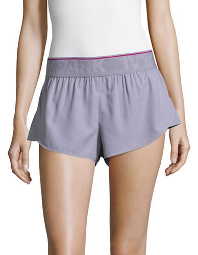 Ivy Park Mesh Panel Running Shorts-CLOUD GREY-Large 89281225_CLOUD GREY_Large