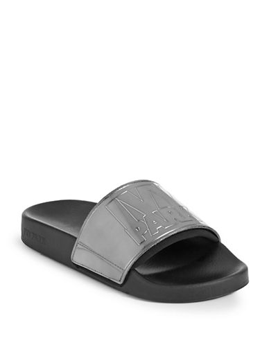 Ivy Park Contrast Logo Slides-GREY-UK 7/US 9