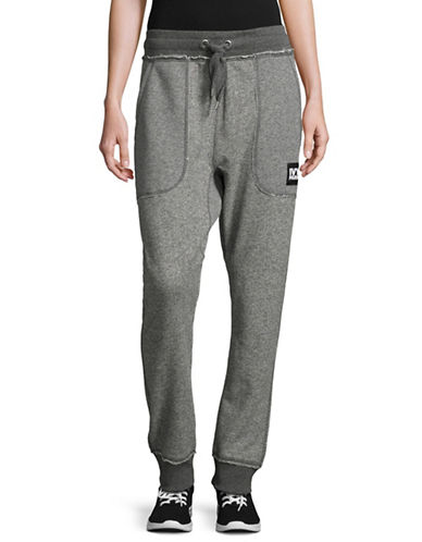 Ivy Park Marl Lounge Joggers-LIGHT GREY-Large