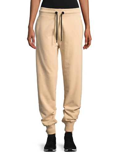 Ivy Park Tonal Logo Jogger Pants-BLUSH-Medium