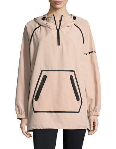 Ivy Park Perforated Jacket-PINK-Large