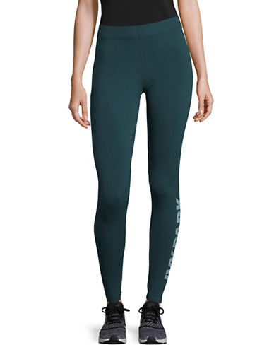 Ivy Park Logo Ankle Leggings-GREEN-Large 89493111_GREEN_Large
