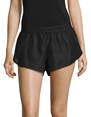 Ivy Park Active Mesh Shorts-BLACK-Medium