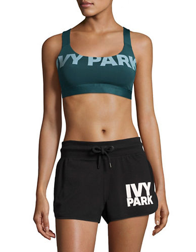 Ivy Park Programme Light Impact Sport Bra-TEAL-Small