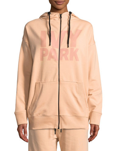 Ivy Park Programme Hoodie-BLUSH-Small