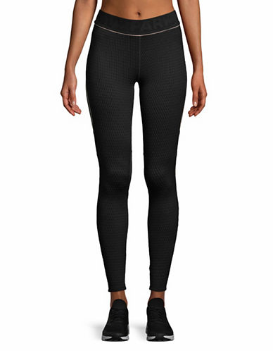 Ivy Park Jacquard Knitted Leggings-BLACK-Large 89644774_BLACK_Large