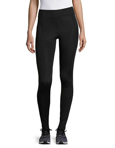 Ivy Park High Rise Ankle Leggings-BLACK-Medium