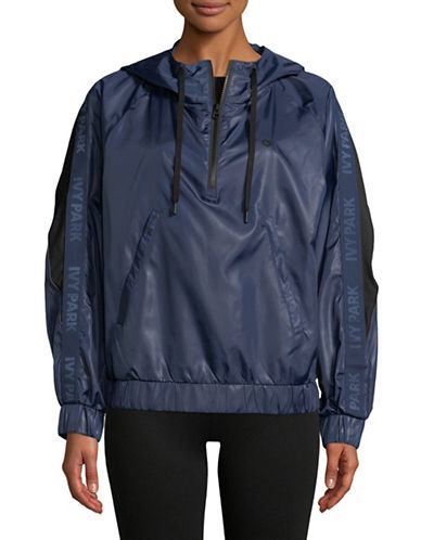 Ivy Park Wetlook Jacket-BLUE-X-Large 89701718_BLUE_X-Large