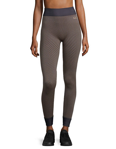 Ivy Park Fishnet Seamless Leggings-BLACK-Small/Medium