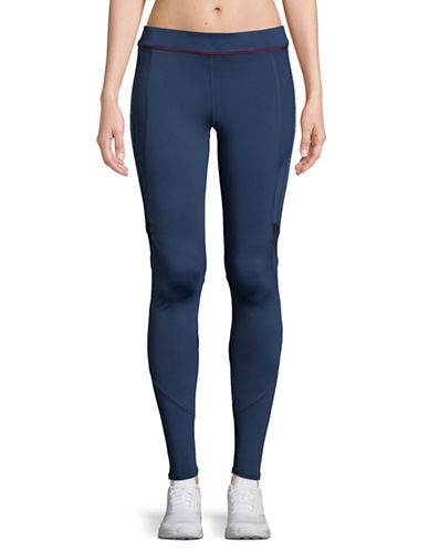 Ivy Park Logo Stretch Leggings-NAVY-Medium