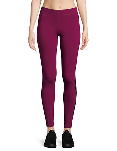 Ivy Park Programme Ankle Logo Leggings-PURPLE-X-Small 89893356_PURPLE_X-Small