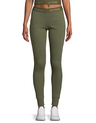 Ivy Park Logo Ribbed Leggings 89893361