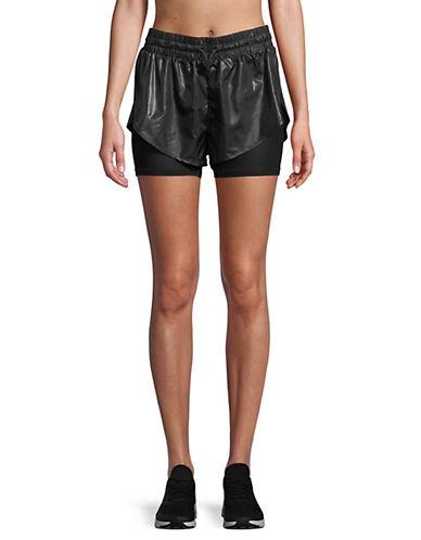 Ivy Park Hi Shine Shorts-BLACK-X-Large 89893386_BLACK_X-Large