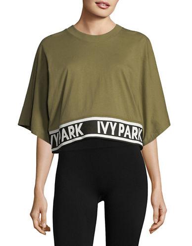 Ivy Park Logo Flat-Knit Tee 89796598