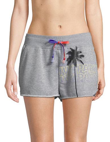 Ivy Park Festival Palm Shorts-GREY-Large 90063319_GREY_Large