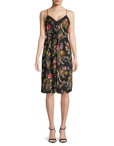 Rainbow Rose Slip Dress by Needle & Thread