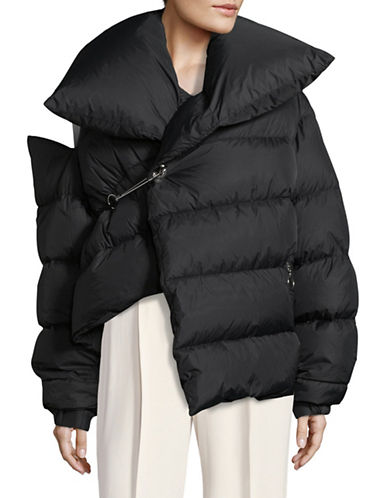 Marques Almeida Waterproof Down-Filled Puffer Jacket-BLACK-Small