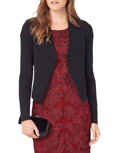 Phase Eight Terra Smart Cardigan-BLACK-UK 8/US 4