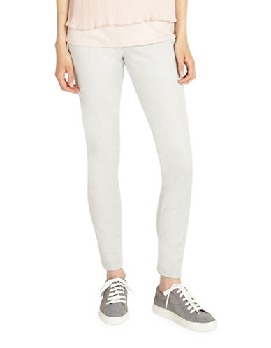 Phase Eight Amina Darted Jeggings-WHITE-UK 16/US 12