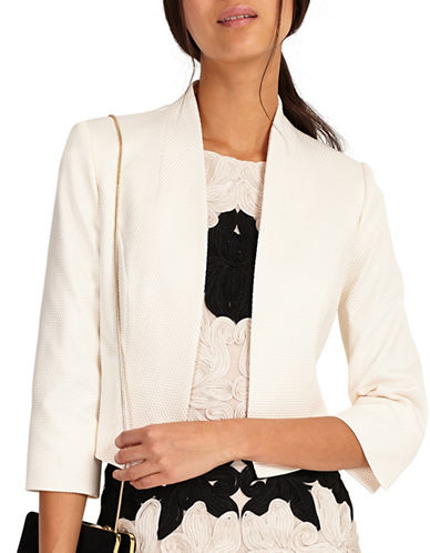 Phase Eight Valda Jacket-CREAM-UK 8/US 4