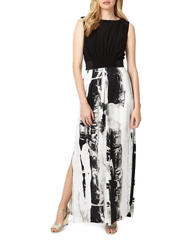 Phase Eight Claireen Printed Maxi Dress-BLACK MULTI-UK 10/US 6