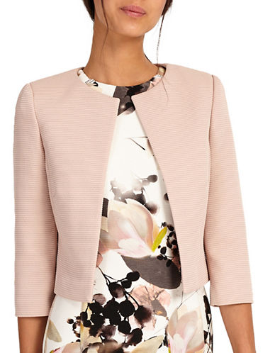 Phase Eight Claudette Jacket-PINK-UK 12/US 8