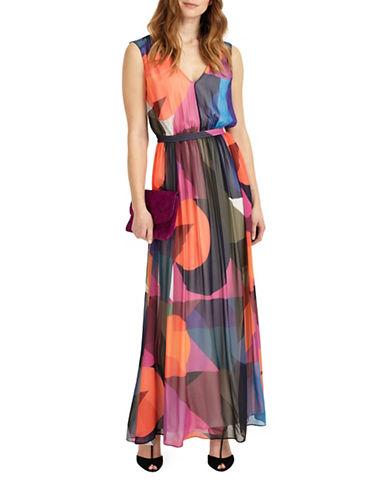 Phase Eight Phoenix Printed Maxi Dress-MULTI-UK 8/US 4