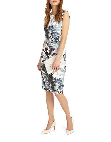 Phase Eight Zinnia Scuba Dress-MULTI-UK 14/US 10