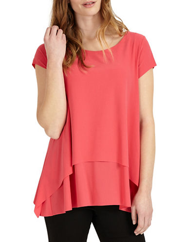 Phase Eight Layered Top-PINK-UK 10/US 6