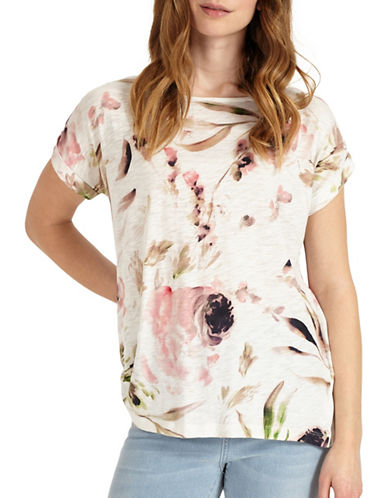 Phase Eight Pearl-Printed Top-MUTLI-UK 8/US 4
